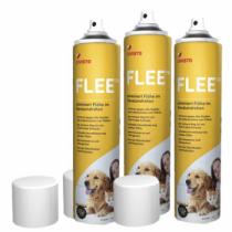 Flee - Spray gegen Flohbefall 3 x 400ml